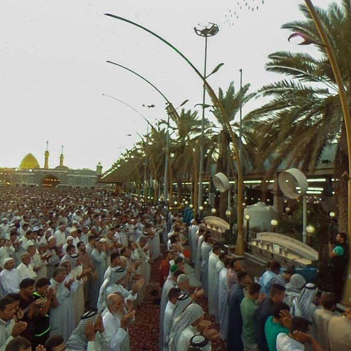 Namaz - Eid-ul-Fitr - Karbala Iraq  (1 Shawal 1437 / 2016 - Karbala Iraq)  Photography: Karbala TV  Shia Multimedia Team: http://ift.tt/1L35z55