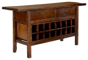 Vintage Chinese Wine Console Cabinet ...a little out of my price range but gorgeous