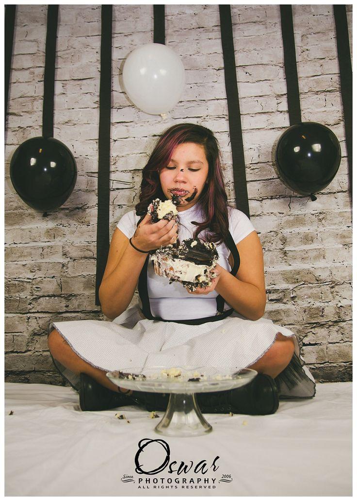 Stormtrooper Adult Cake Smash Genillys Sweet Sixteen