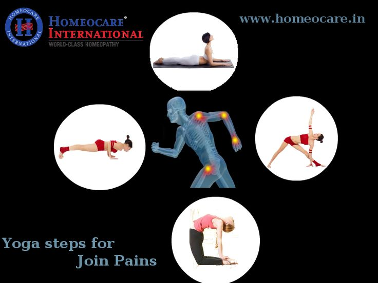 Daily Yoga practice can help you in controlling Joint Pains and For unbearable joint pains all over the body Arthritis homeopathic treatment is the better solution @Homeocare International.