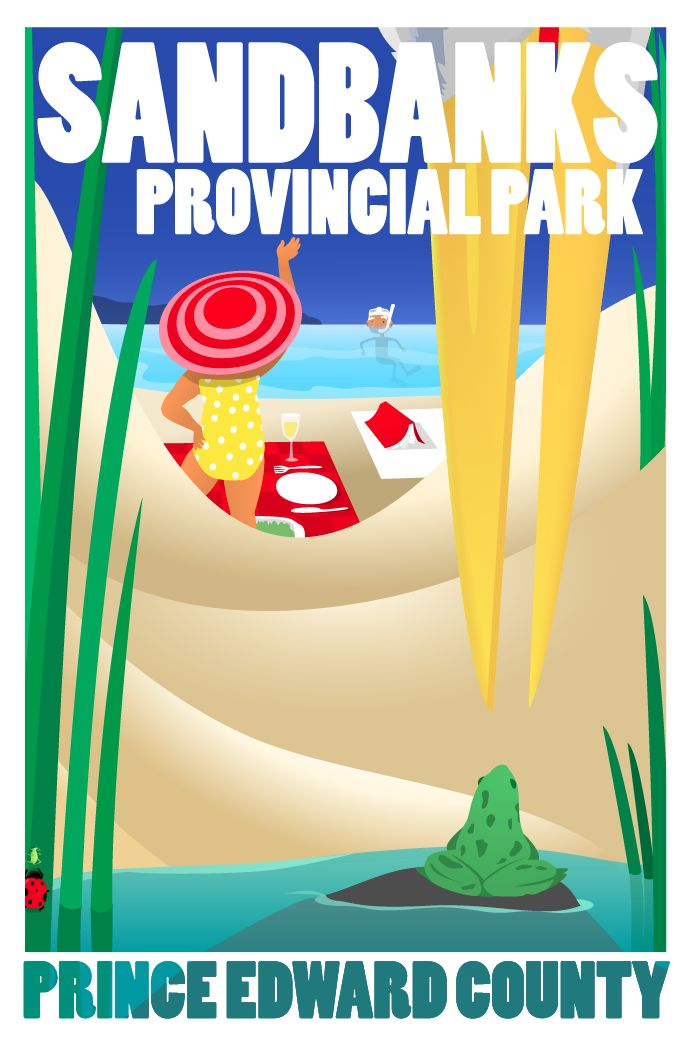 County Posters » Lunches at Sandbanks