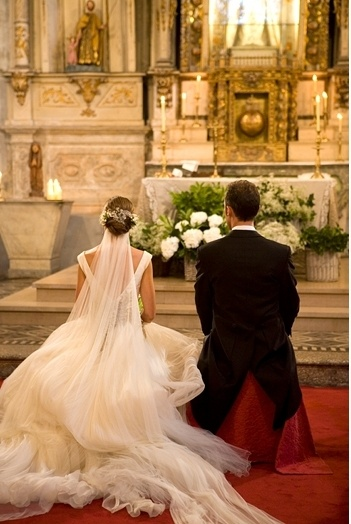There something so beautiful about a Catholic wedding                                                                                                                                                                                 More