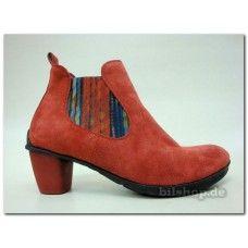 """005 Damen Pumps-Stiefeletten """"KEKSY"""" Obermaterial: Crosta/Grasso/Soft N Futter: Leder pflanzlich gegerbt Innensohle: wechselbar, pflanzlich gegerbtes Leder Laufsohle: Latex Absatzhöhe: 40 mm, Der Schuh ist für lose Einlagen geeignet ! The inner sole is replaceable The shoes are suitable for orthopedic soles #THINK!  #DamenStiefeletten  #damenSchuhe #Stiefeletten #Women's shoes, #Quality shoes, #Comfortable shoes"""