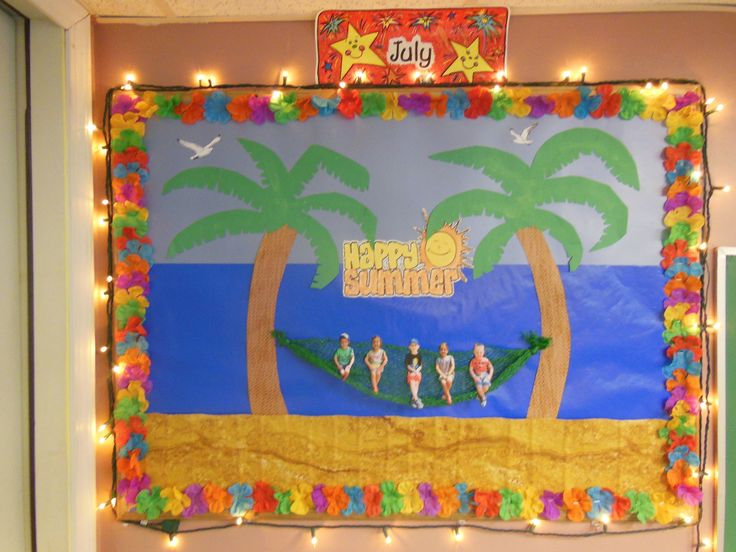 Summer Themed Classroom Decorations : Best images about bulletin boards preschool on pinterest