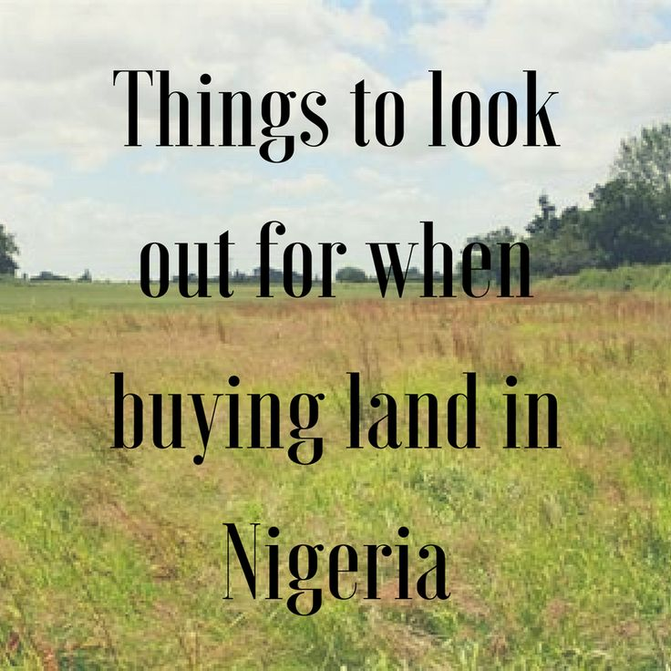 Buying land in Nigeria today, comes with a lot of responsibilities for the individual or the organization who are desirous of purchasing the said property. While purchasing landed property is worth the investment, there are certain key things that are worthy of note and worth looking out for when purchasing landed property in these climes.  •Budget •Location •ROI •Owners' documentation •Document all transaction •Land grabbers