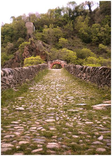 Ponte del Diavolo.Parco Naturale delle Valli di Lanzo (Turin) Italy