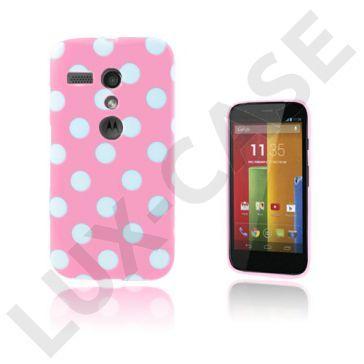 Polka Dots (Roze) Motorola Moto G Hoesje