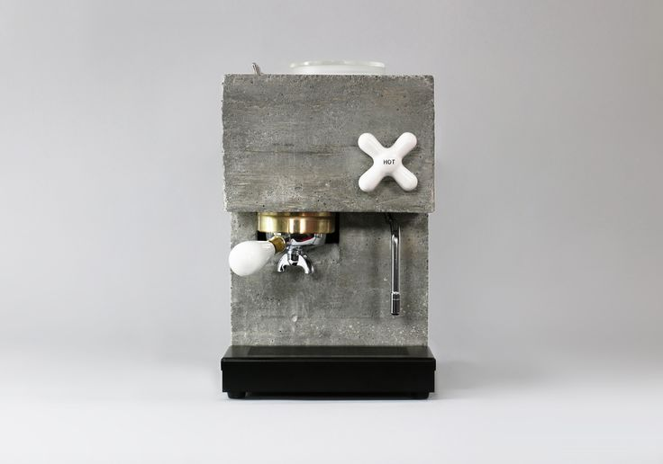 Image 3 of 12 from gallery of Espresso Yourself With This Brutalist Coffee Machine. Courtesy of Montaag