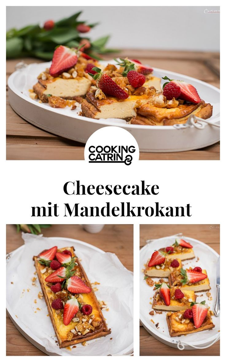 cheesecake, frühlings cheesecake, spring cheesecake, mandelkrokant, mandelcheesecake, beeren cheesecake, beeren topping, kuchen, backen, frühlings kuchen, leichter kuchen, käsekuchen, berries, berry topping, almond cheesecake, spring cake, easy cake, spring cheesecake, almond crumbs, baking, cake...http://www.cookingcatrin.at/fruehlings-cheesecake/