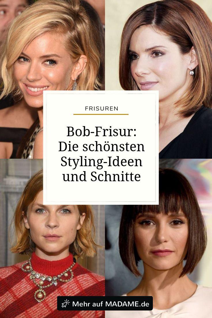 Bob Frisuren 2020 Die Schonsten Schnitte Und Styling Varianten Bob Frisur Mittellanges Haar Wellen Schone Haare