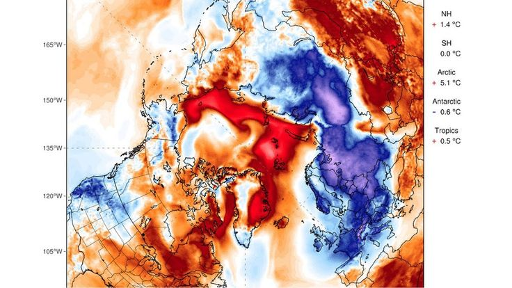 """Freakishly Warm"" Arctic Weather Has Scientists Reconsidering Worst-Case...A few facts for those who have difficulty in figuring out the truth."