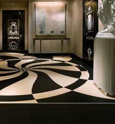 Black And White Marble Flooring Designs Ideas For Living