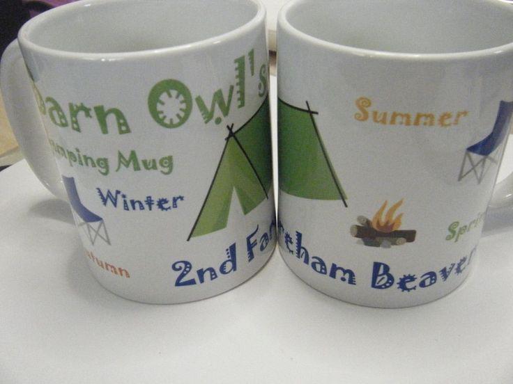 Personalised gift Mugs Beavers, Cubs, Brownies, Guides leaders etc | eBay