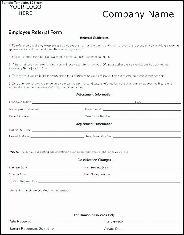 Referral Request Form Template New Employee Plaint Template 4 Templates Referral Form Free Template Word Math Addition Worksheets Referrals