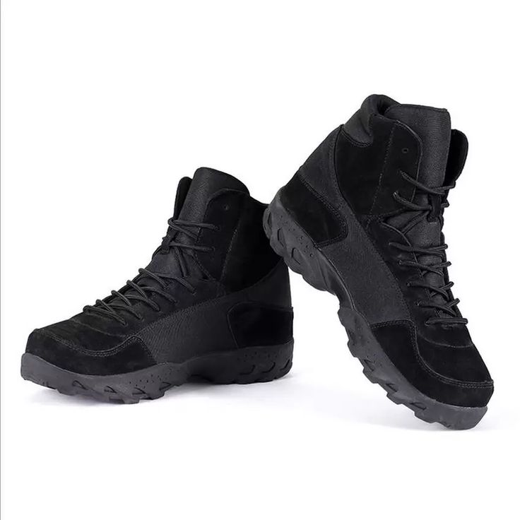 High Quality Tactical Boots Military Desert Combat Boots Outdoor Breathable Wearable Boots Hiking Shoes Black   Lazada.co.th