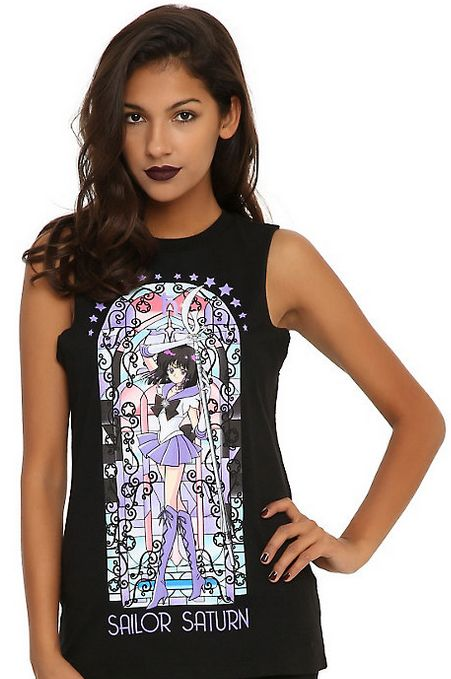 New official Sailor Saturn tank top! More info and shopping links here.