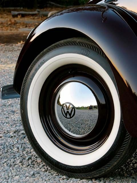 Volkswagen Beetle Wheel these will be the finishing touch on the bug.