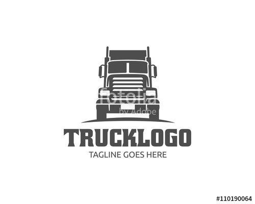 Truck Logo, cargo logo, delivery cargo trucks, Logistic logo ...