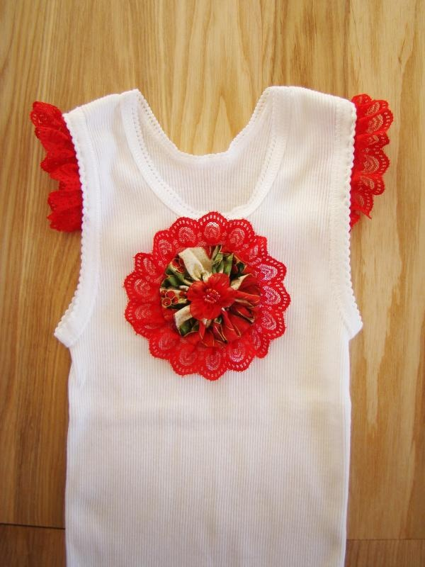 The 11 best images about girls singlet on pinterest free pattern babies christmas singlet style 1 size 0 negle Images