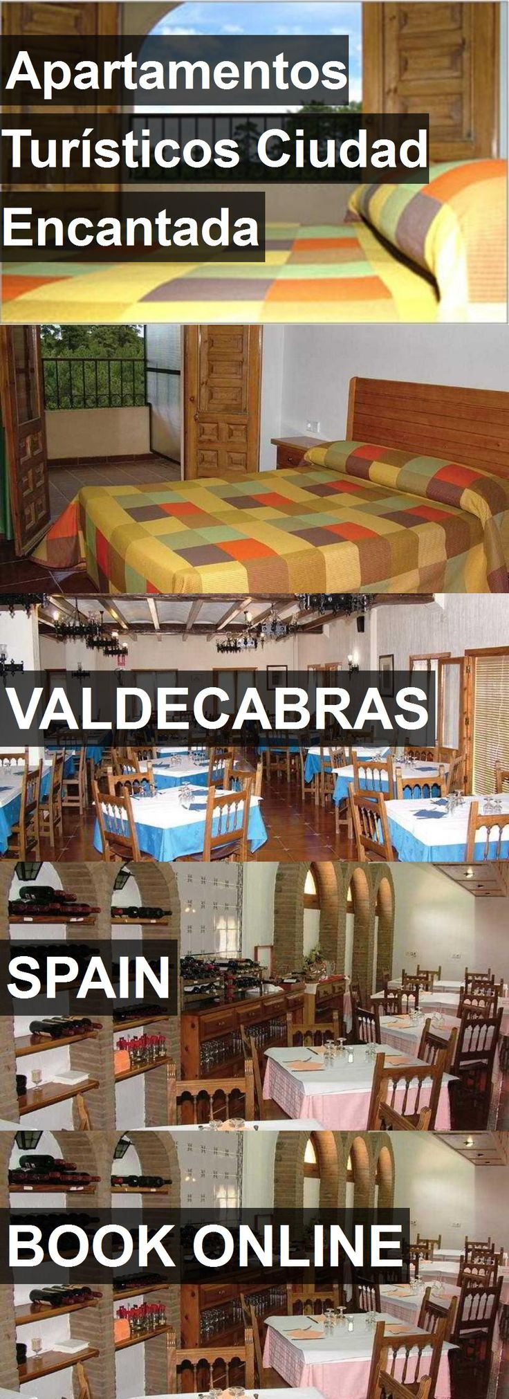 Hotel Apartamentos Turísticos Ciudad Encantada in Valdecabras, Spain. For more information, photos, reviews and best prices please follow the link. #Spain #Valdecabras #travel #vacation #hotel