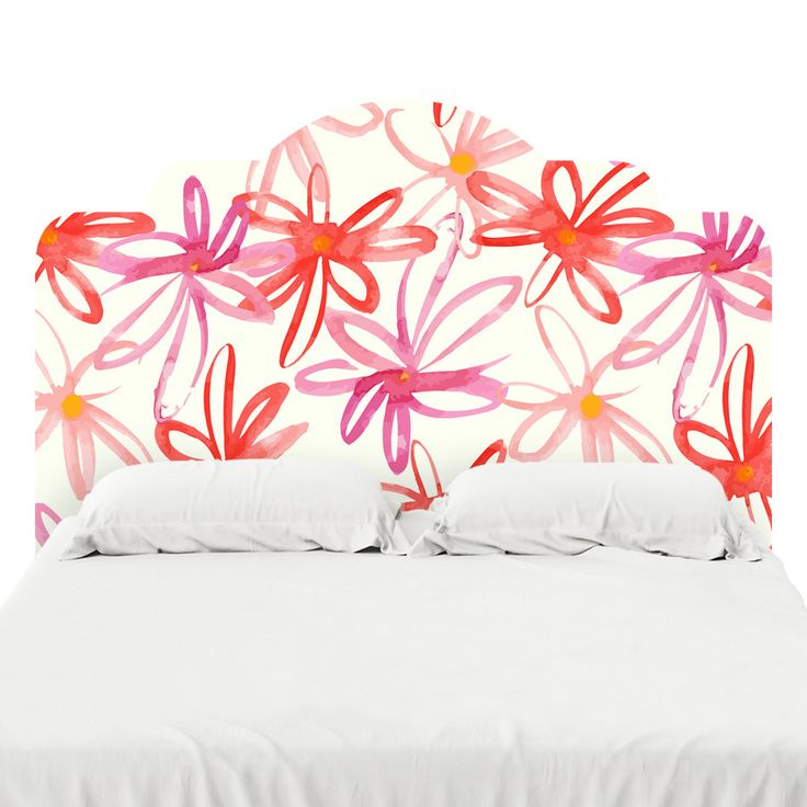 Tickled Pink Headboard Decal