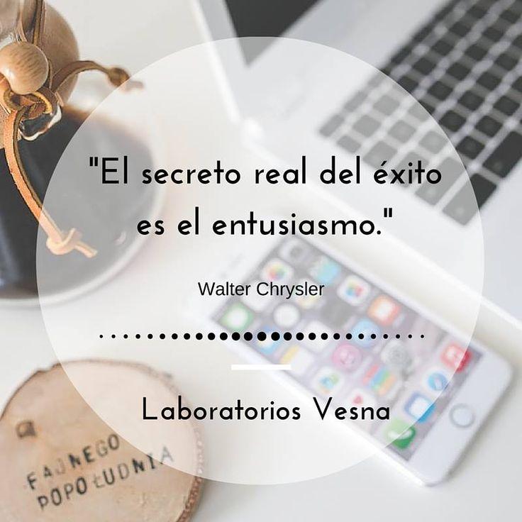 El secreto real del éxito es el entusiasmo