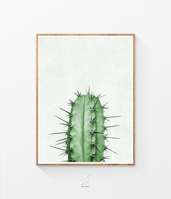Cactus Plant Print /