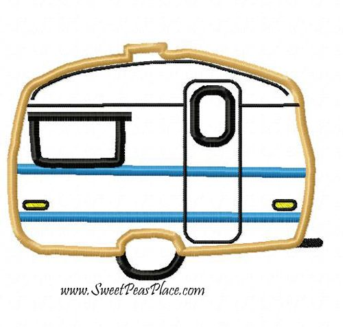 Cool Camping Rv Embroidery Designs Machine Embroidery Designs At