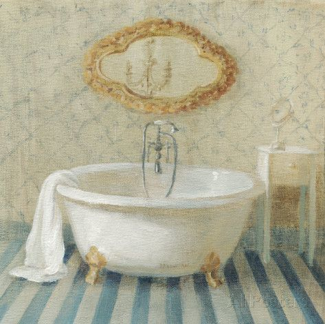 Victorian Bath II Pôsters por Danhui Nai na AllPosters.com.br