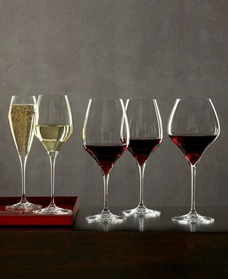 """Riedel """"Vitis"""" wine glasses.  They mean serious business. ;-)"""