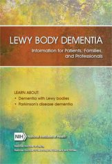 """What is Dementia With Lewy Bodies? Dementia with Lewy bodies (DLB) is one of the most common types of progressive dementia. The central features of DLB include progressive cognitive decline, """"fluctuations"""" in alertness and attention, visual hallucinations, and parkinsonian motor symptoms, such as slowness of movement, difficulty walking, or rigidity.  People may also suffer from depression."""