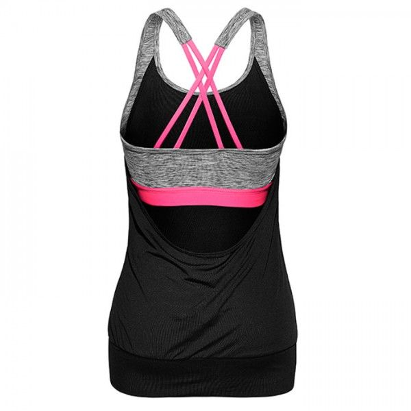 H&M Yoga Tank Top with Sports Bra - Workout Clothes: H&M Sport 2015 Winter Collection - Shape Magazine
