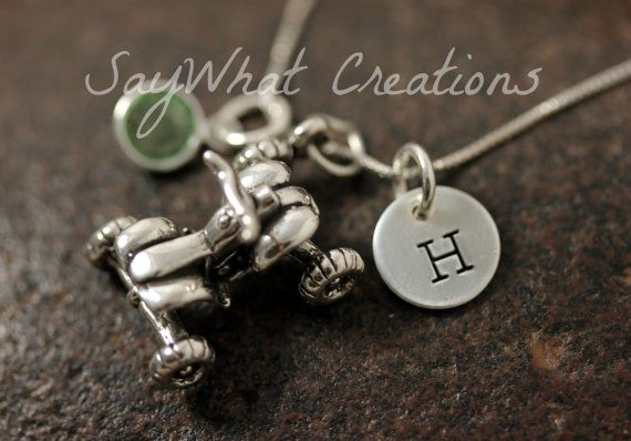 Sterling Silver ATV Quad Four Wheeler Charm by SayWhatCreations