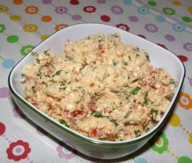 Rezept Tomaten Brotaufstrich REZEPT DES TAGES VOM 19.01.2015 von bininanny - Rezept der Kategorie Saucen/Dips/Brotaufstriche