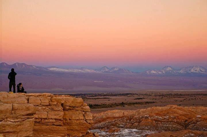 Valle de La Luna,  Desierto de Atacama, Chile