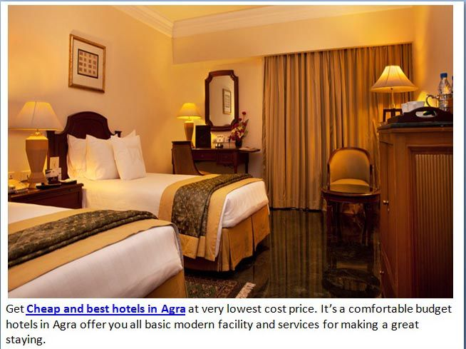 Siris18 Cheap And Best Hotels In Agra