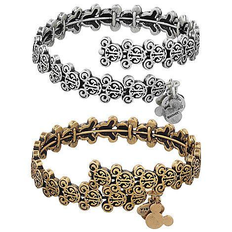 Mickey Mouse Filigree Wrap Bracelet By Alex And Ani Alex And Ani