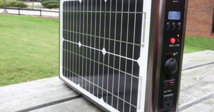 Super-Portable #Solar Briefcase #Survival #Preppers