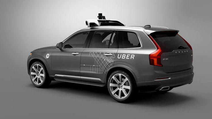 Carro autônomos da Uber, um Volvo CX90