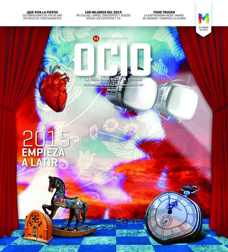 Hoy la portada de OCIO por Scott Neri. Gracias Grupo Público Milenio.Yeahhh!!! www.scottneri.com
