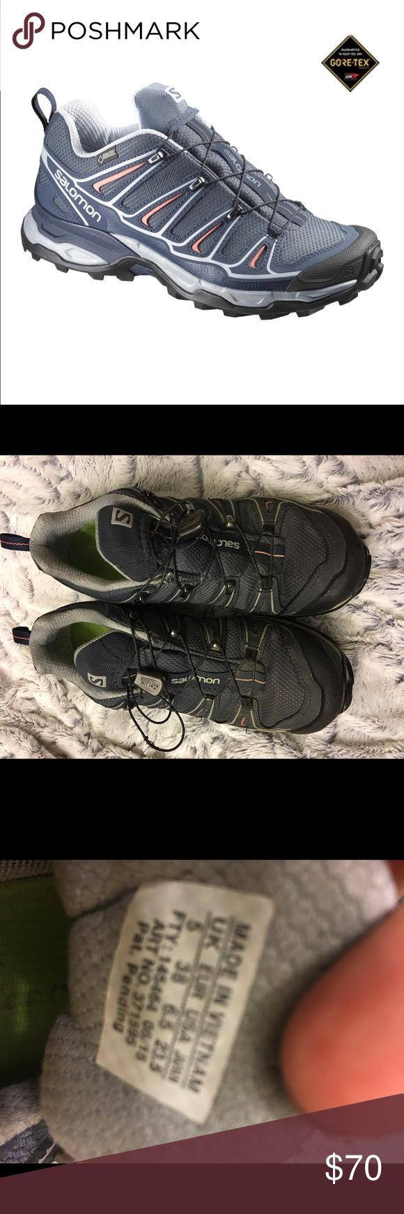 Salomon x ultra Gtx women's shoes Salomon X Ultra 2 GTX W hiking shoe, perfect for the outdoors girl. Perfect condition like new! Salomon Shoes Athletic Shoes