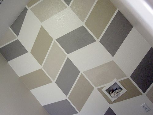 8 best images about Wall paint patterns on Pinterest