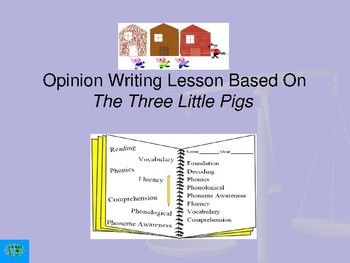 lessons on writing an opinion essay