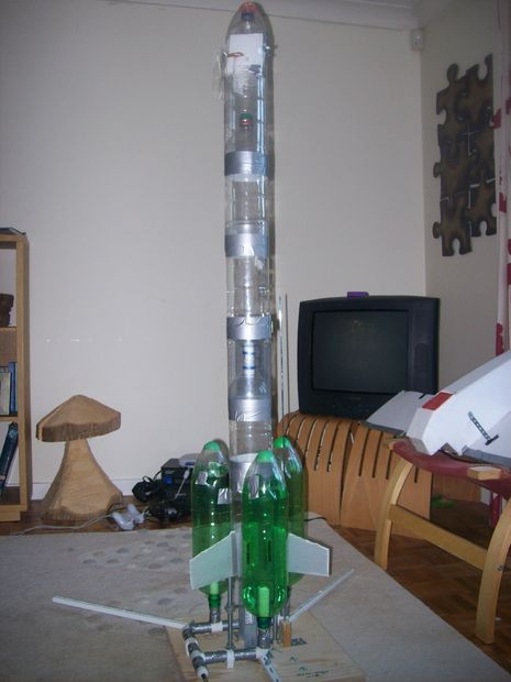 This ain't your normal water rocket!