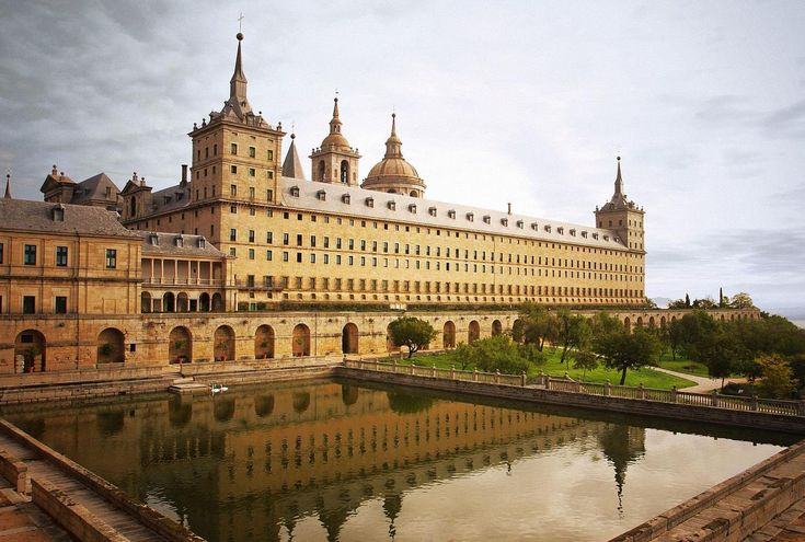 The Royal Seat of San Lorenzo Escorial, a historical residence of the king of Spain. If functions as a royal palace, monastery, museum, and school. Phillip II devoted much of his time here during the Protestant Reformation.