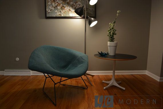 vintage knoll bertoia large diamond chair with full. Black Bedroom Furniture Sets. Home Design Ideas