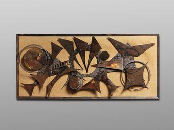 Danish Vintage Welded Metal Wall Art $700 @ Baxter & Liebchen, NYC 212 431 5050 or info@baxterliebchen.com