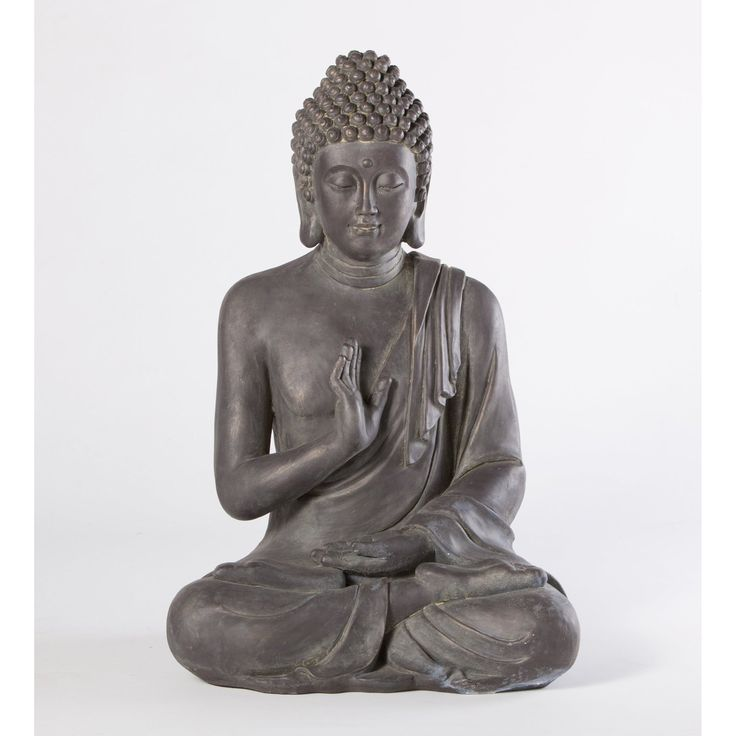 28in   Amazon.com : Alfresco Home Thai Buddha Garden Statue : Outdoor  Statues :
