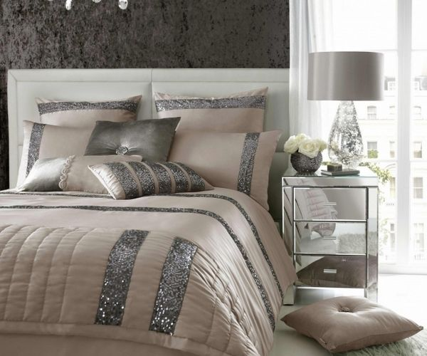 Satin Gray Beige Luxury Duvet Cover Set Stylish Bedroom Design Ideas Luxury Bedding Sets Home Luxury Bedding