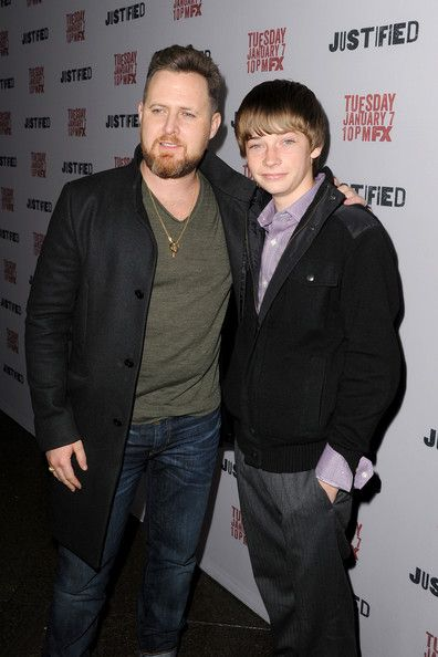 A.j. Buckley - Arrivals at the 'Justified' Season 5 Premiere — Part 2